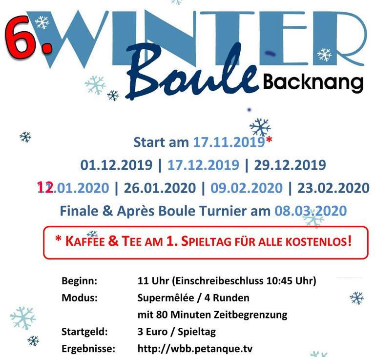 6. Winterboule @ Backnang